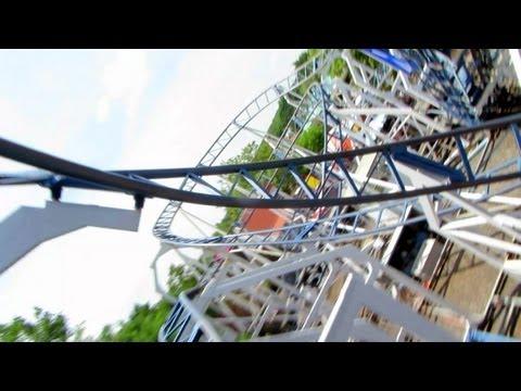 Hurricane front seat on-ride HD POV Adventureland, Long Island