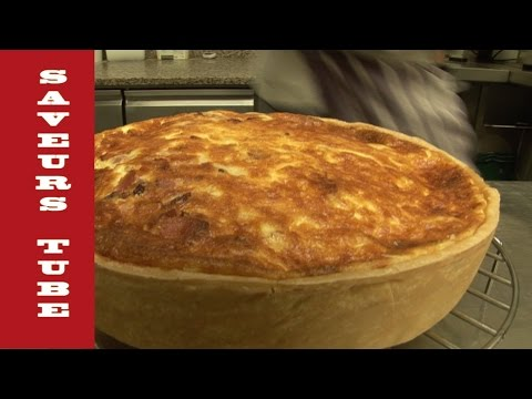How to make a Quiche Lorraine with TV Chef Julien from Saveurs Dartmouth UK