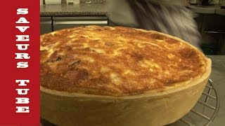 How to make Quiche Lorraine with The French Baker TV Chef Julien from Saveurs Dartmouth U.K,
