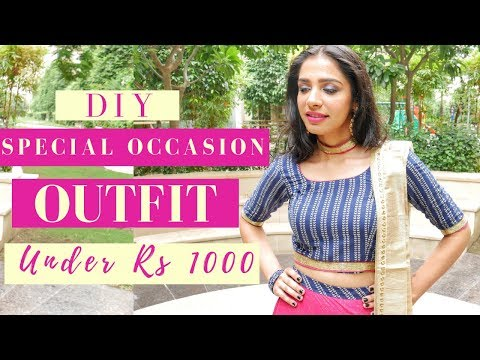 Rakhi Outfit Idea | DIY under Rs. 1000