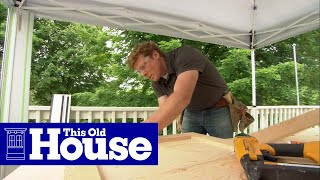 How to Build a Laminate Counter | This Old House