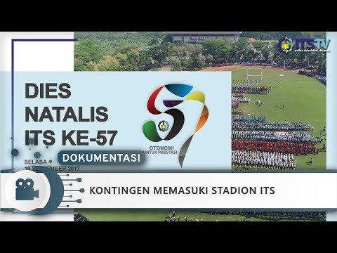 Kontingen Memasuki Stadion ITS - Dokumentasi Dies Natalis 57 ITS Part 1