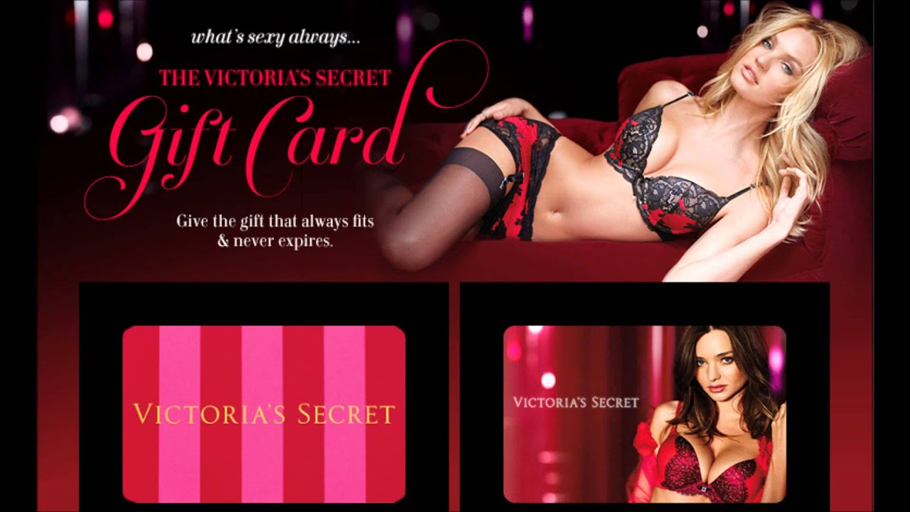 Exclusive! Victoria Secret Angel Card - Get a Free Victoria's ...