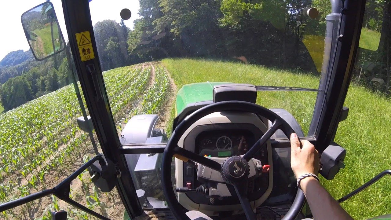 Summer Work on a Small Dairy Farm   Part 1