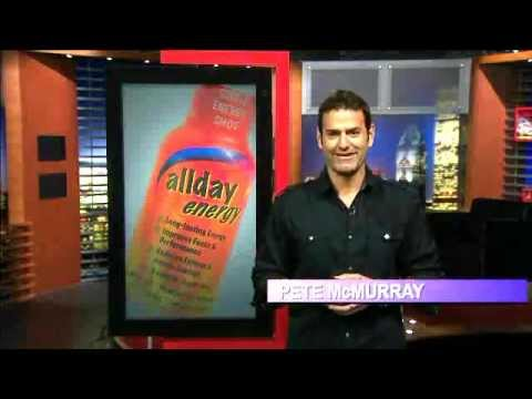 Allday Energy/Jewel Osco TV ad featuring Pete McMurray