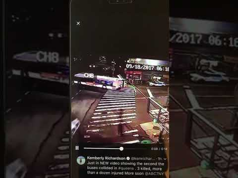 Flushing bus accident