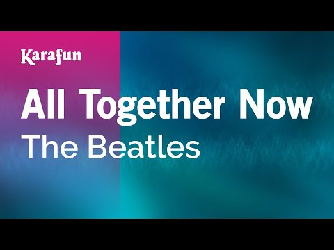 Karaoke All Together Now - The Beatles *