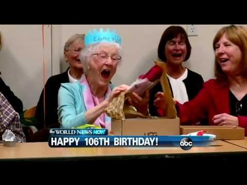 WEBCAST: A Santa Barbara Woman Is Celebrating Her 106th Birthday!