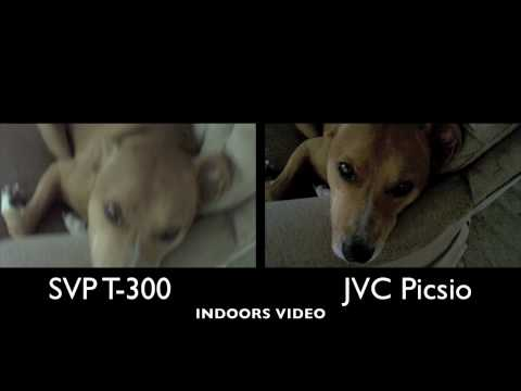 JVC Picsio vs SVP T-300 Side by Side Video