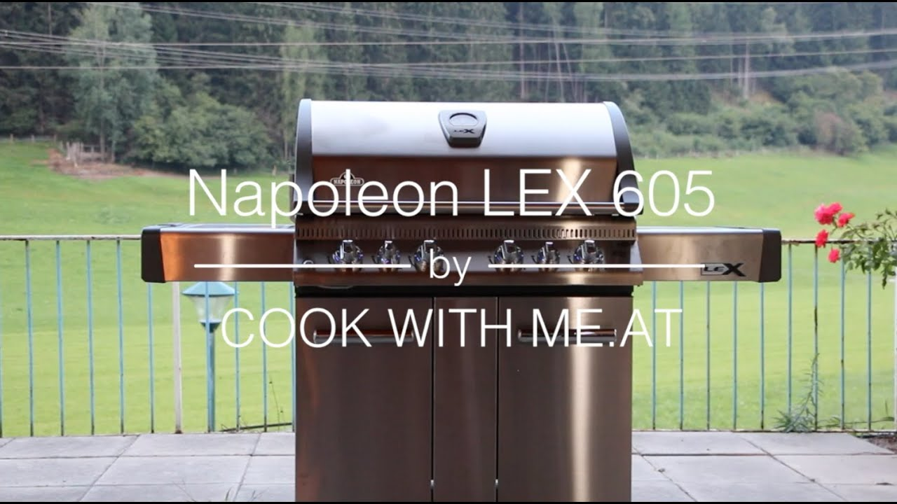 Napoleon Holzkohlegrill Charcoal Pro 605 : New grill napoleon lex cook with me at youtube