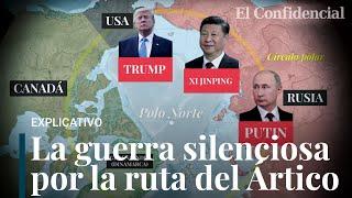 La guerra del Ártico: la vía comercial que enfrenta a China, Rusia y Estados Unidos