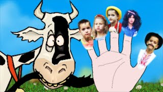 Farm Finger Family Song - Farmer Song | Nursery Rhymes songs collection for toddlers