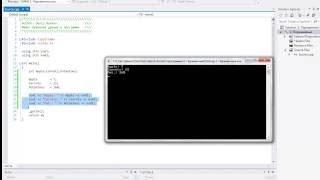 Видеоуроки по программированию на C++. 02 урок Переменные