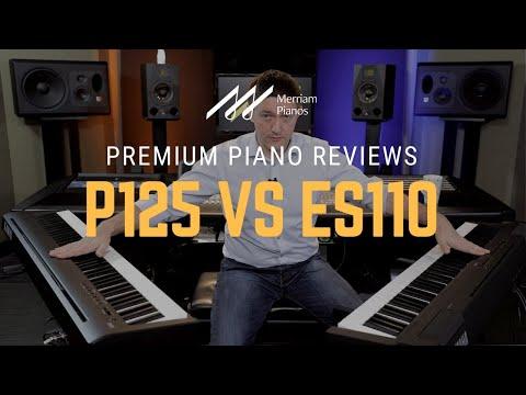 🎹Yamaha P125 Vs Kawai ES110 Digital Piano Comparison, Review & Demo🎹