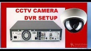 cctv camera installation step by step procedure with dvr setup(how to install or set up and configure a cctcv camera with dvr setup in home & office , you can connect it to internet for viewing online on mobile for remote view ..., 2014-02-17T18:22:12.000Z)