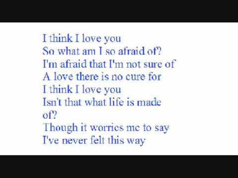 Think i love you with lyrics by kaci brown youtube