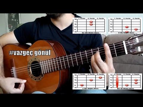 Ece Mumay-Vazgeç Gönül | Gitar Dersi