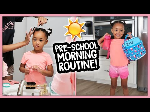Morning Routine In Our New House! (Single Mom)
