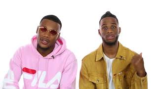 Ar'mon & Trey Share Advice On Switching To A New School and Lunch Table Protocol