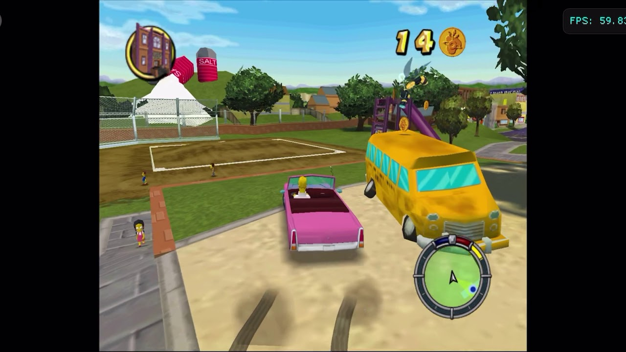 How to get simpsons hit and run on iphone