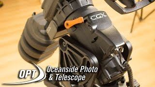 introducing the celestron cgx with celestron s bryan cogdell opt