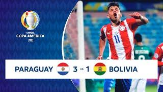HIGHLIGHTS PARAGUAY 3 - 1 BOLIVIA | COPA AMÉRICA 2021 | 14-06-21