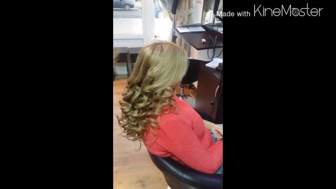 Bucle In Staniol Salon Velvet Youtube
