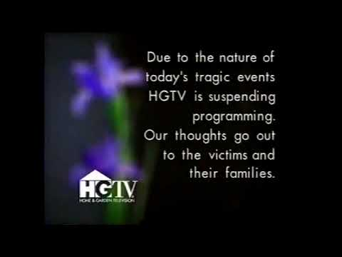 HGTV Suspending Programming on 911  As it happened September 11, 2001