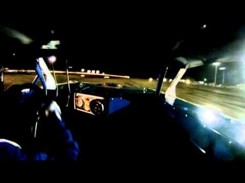 Mike McKinney In Car - UMP SS Heat Race - Farmer City Raceway (4/17/11)