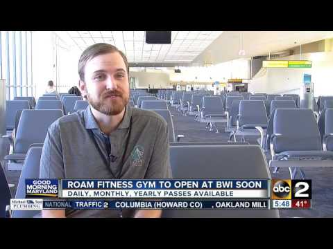 Roam Fitness Gym to open at BWI Airport