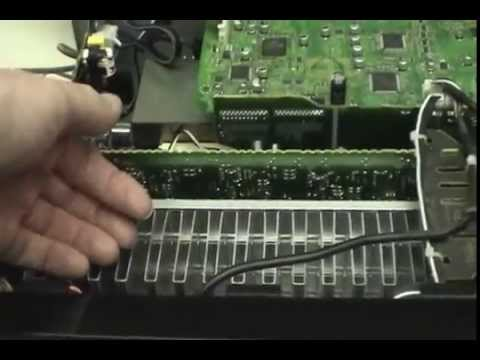 Pioneer Model VSX-1021-K Stereo Reciever Repair