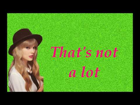 Taylor Swift-Santa Baby (Lyrics On Screen)
