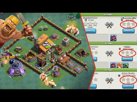 Clash of Clans -  BEST BUILDER HALL LEVEL 3 BASE - Could You Star It?