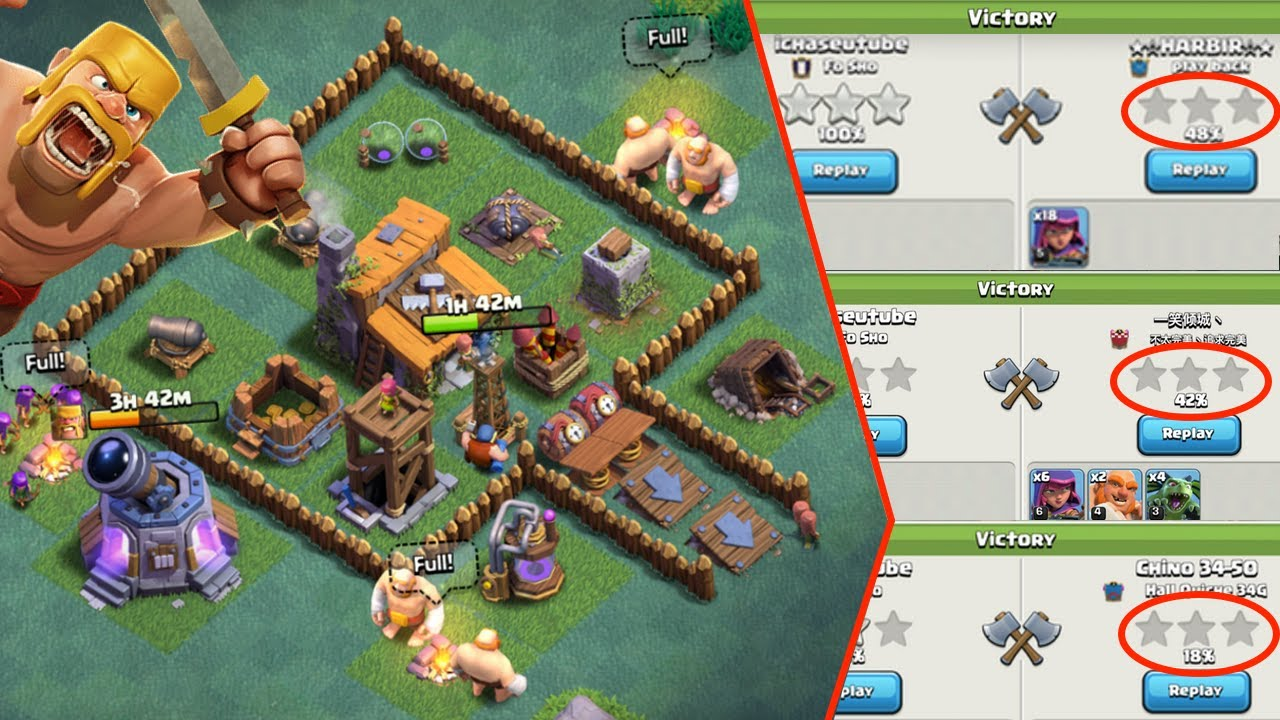 Clash Of Clans Best Builder Hall Level 3 Base Could