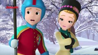 Sofia The First | Enchanted Ice Dancing | Disney Junior UK
