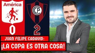 América 0-2 Cerro Porteño | Copa Libertadores 2021 | Resumen de Goles y Táctica por Juan F. Cadavid