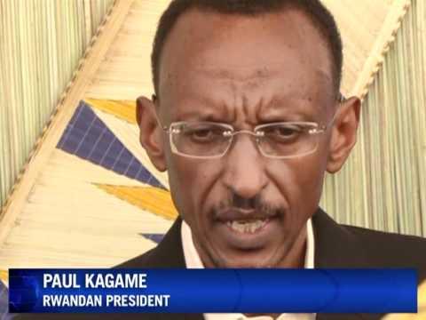 Rwanda's president Kagame casts his vote