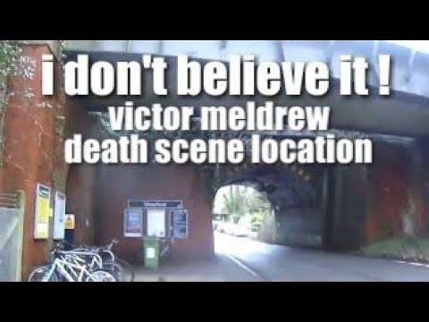 victor meldrew death scene location - one foot in the grave
