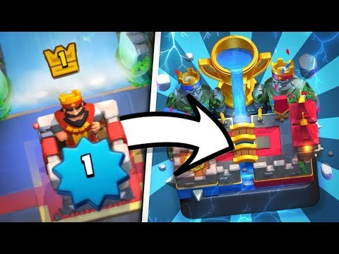 LEVEL 1 Player Hits LEGENDARY ARENA (3800+) WORLD RECORD!!!