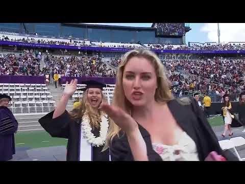 2018 University of Washington Commencement Ceremony
