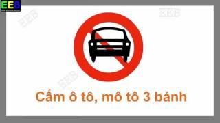 Giao thông cho bé| Biển báo cấm| Dạy bé biển báo giao thông| Giáo dục sớm cho trẻ EEB