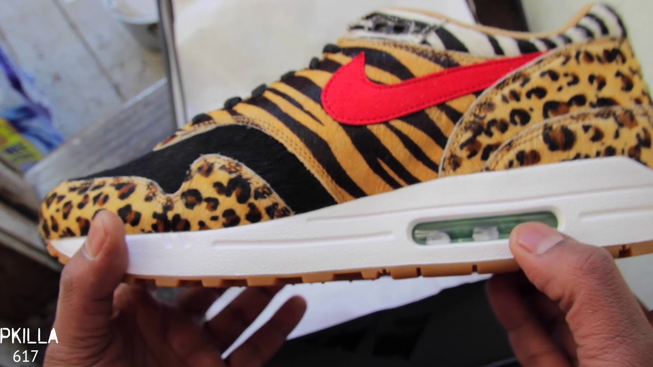 best authentic a8217 ce6b4 ... spain air max 1 atmos animal pack 2.0 review and detail look 760fe 1d42f