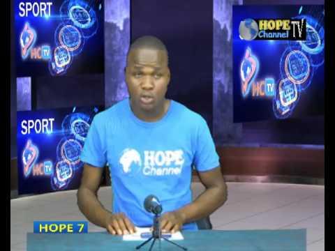JOURNAL DE SPORT SUR HOPE CHANEL TV A GOMA