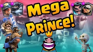 Complete Mega - Prince Control Deck Guide! IT WORKS! | Mega Knight Challenge #5 | Clash Royale