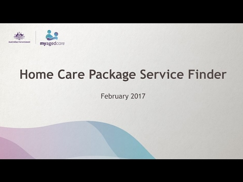 My Aged Care – Home Care Package Service Finder