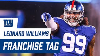 Leonard Williams Gets Franchise Tag from Giants | New York Giants