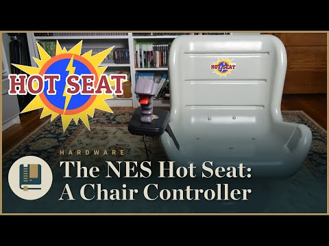 The NES Hot Seat: A Chair Controller | Gaming Historian
