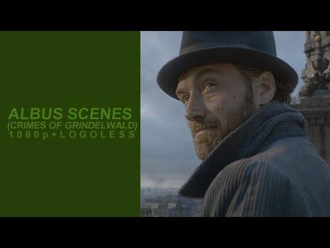 Albus Dumbledore Scenes (Crimes of Grindelwald) | Logoless 1080p