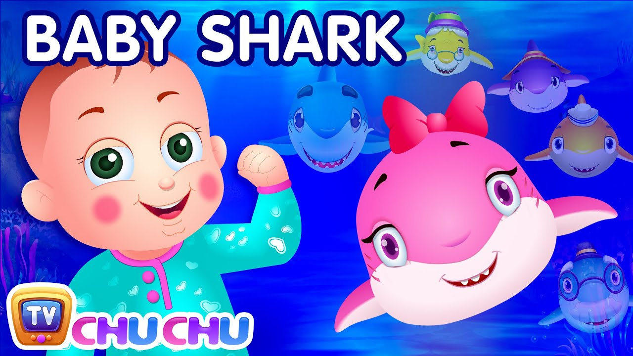Baby Shark Song Sing And Dance Animal Songs For