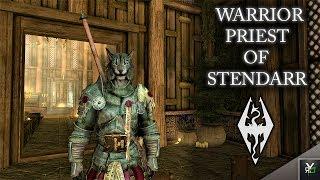 WARRIOR PRIEST OF STENDARR: ARMOR/WEAPON MOD!!- Xbox Modded Skyrim Mod Showcase